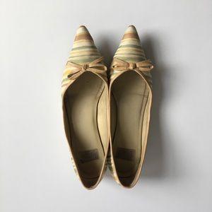 Arturo Chiang Pointed toe bow flats